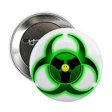 """trancebiogreen 2.25"""" Button"""