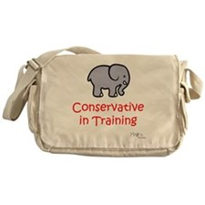 Conservative In Training Messenger Bag