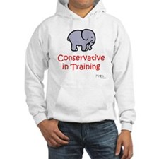 Conservative In Training Hoodie