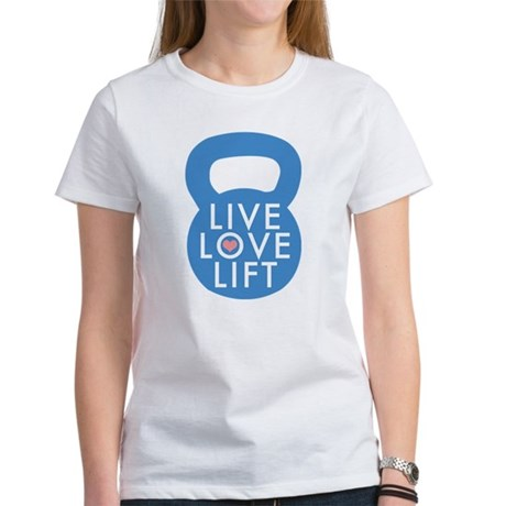 Blue Live Love Lif T-Shirt