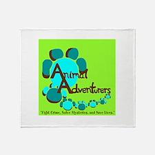 Animal Adventurers Throw Blanket