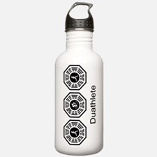 Copy of Duathlete_wome Water Bottle