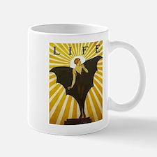 Art Deco Bat Lady Pin Up Flapper Mugs