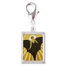 Art Deco Bat Lady Pin Up Flapper Charms