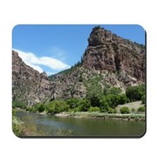 Glenwood Springs Canyon Colorado Photo Mousepad