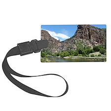 Glenwood Springs Canyon Colorado Luggage Tag