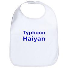 Typhoon Haiyan Bib