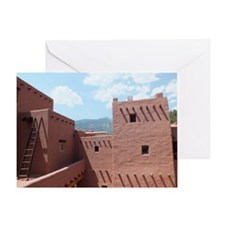 Manitou Springs Cliff Dwellings Colo Greeting Card