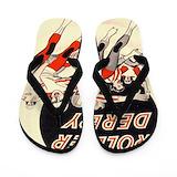 Roller derby Flip Flops