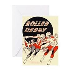 Roller Derby Advertisemnt Image Retro Derby Girl G
