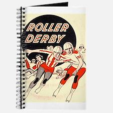 Roller Derby Advertisemnt Image Retro Derby Girl J