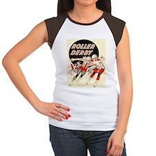 Roller Derby Advertisemnt Image Retro Derby Girl T