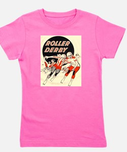 Roller Derby Advertisemnt Image Retro Derby Girl G