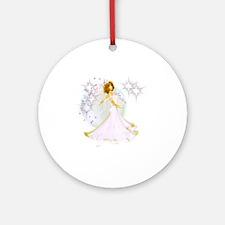 Handfasting - wiccan bride- wedding Round Ornament
