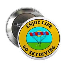 """skydiving3 2.25"""" Button"""