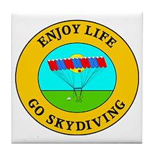 skydiving3 Tile Coaster