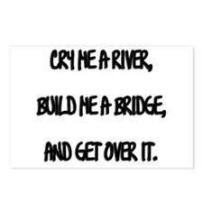 Cry Me a River Postcards (Package of 8)