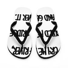 Cry Me a River Flip Flops