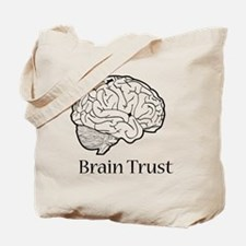 Brain Trust Black Tote Bag