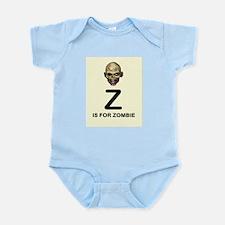 Z is for Zombie Childrens Alphabet Illustration Bo