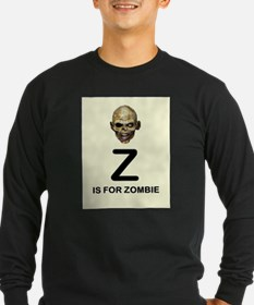 Z is for Zombie Childrens Alphabet Illustration Lo