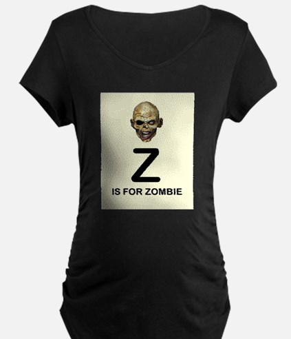 Z is for Zombie Childrens Alphabet Illustration Ma