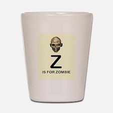 Z is for Zombie Childrens Alphabet Illustration Sh