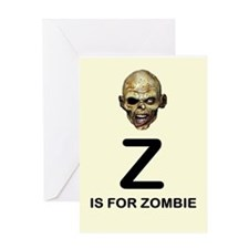 Z is for Zombie Childrens Alphabet Illustration Gr