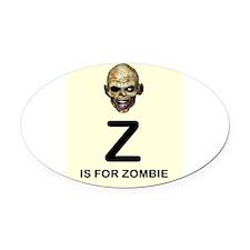 Z is for Zombie Childrens Alphabet Illustration Ov