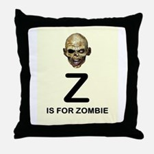 Z is for Zombie Childrens Alphabet Illustration Th