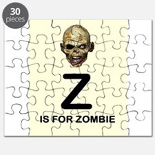 Z is for Zombie Childrens Alphabet Illustration Pu