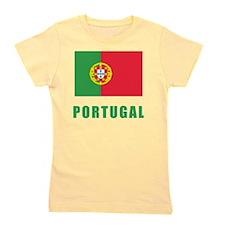 portugal_flag Girl's Tee