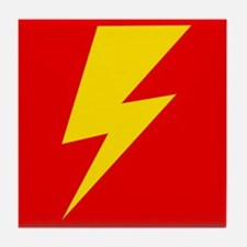 The Flash Lightning Bolt Tile Coaster