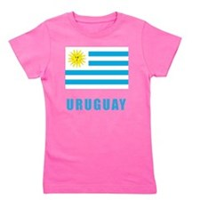 uruguay_flag Girl's Tee