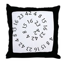 lostnumbers2 Throw Pillow