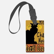 MArdiGrasChatNoir2 Luggage Tag