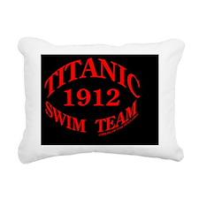 swimteam12x12EMBround Rectangular Canvas Pillow