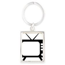 tv Portrait Keychain