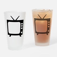 tv Drinking Glass