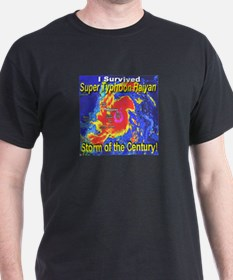 I Survived Super Typhoon Haiyan T-Shirt
