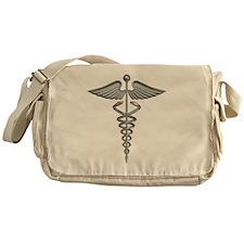 medical symbol Messenger Bag