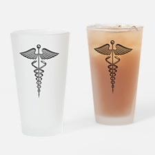medical symbol Drinking Glass