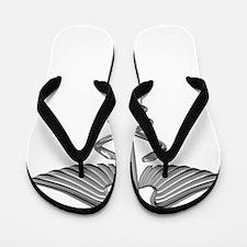 medical symbol Flip Flops