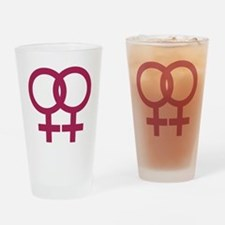 lesbian_signs_1c Drinking Glass