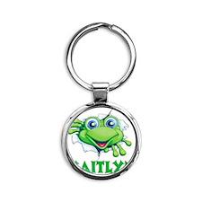 kaityln-frogtear Round Keychain