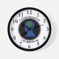 Anti-War Wall Clock
