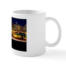 Denver Night Skyline Mug