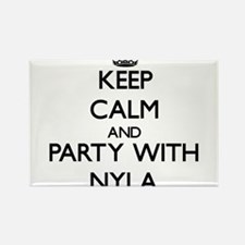 Keep Calm and Party with Nyla Magnets