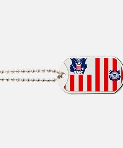 3-USCG-Flag-Ensign-Full-Color Dog Tags