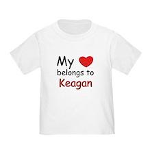 My heart belongs to keagan T